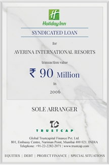 Syndicated Loan of Project & Structured Finance for Averina International Resorts