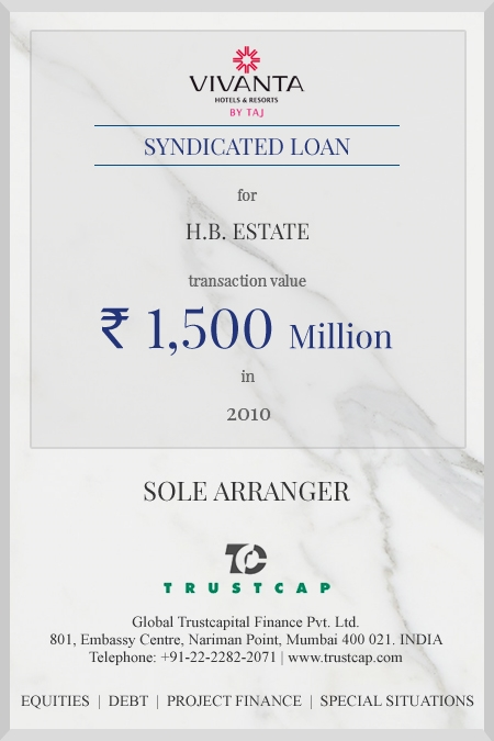Syndicated Loan of Project & Structured Finance for H.B. Estate